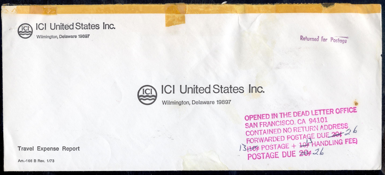 Usps Return Label >> Dead Letter Office -DLO